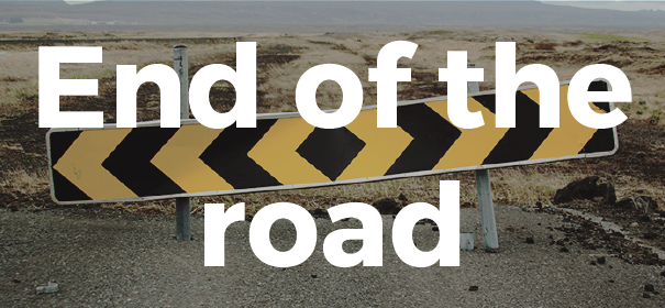 end-of-the-road